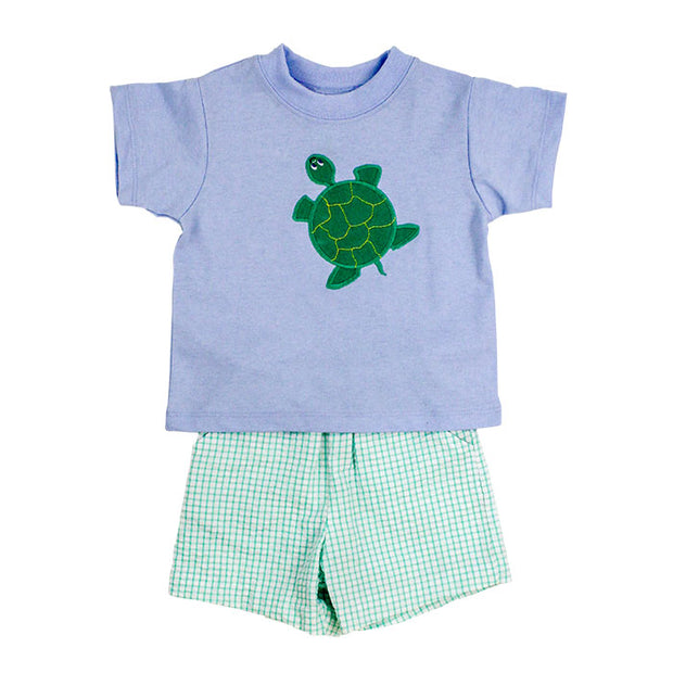 MERKLE TURTLE BOYS SHORT SET