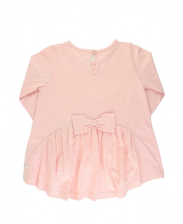 BALLET PINK BOW BACK TOP