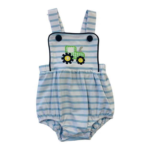 BOYS TRACTOR SUNSUIT