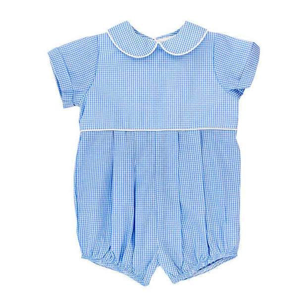 BLUE BELLE CHECK DRESSY BUBBLE