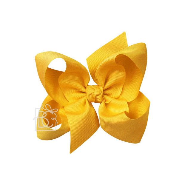 BRIGHT YELLOW BOW