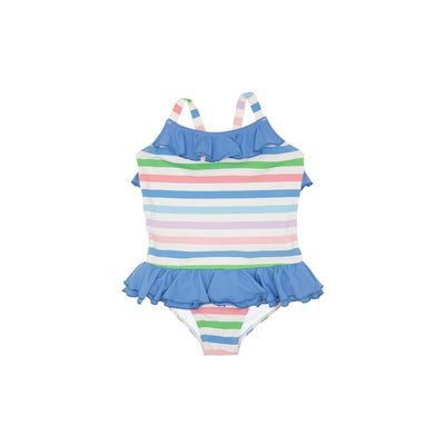 RODEO DRIVE SWIMSUIT IN BROAD STREET STRIPE