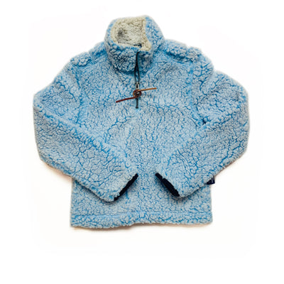 PINTAIL PULLOVER IN LIGHT BLUE