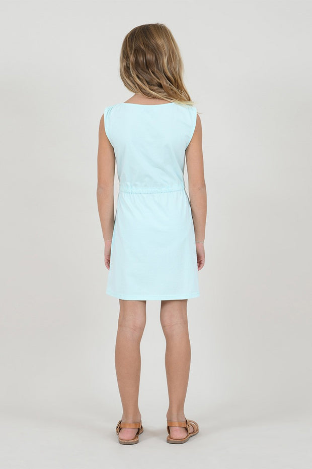 GREEN MINT JERSEY KNIT DRESS