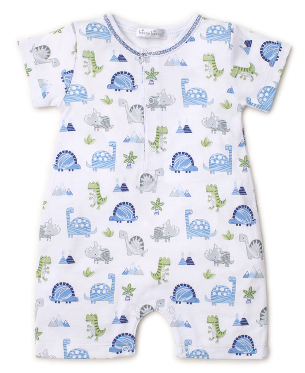 DINO CREW SHORT PLAYSUIT