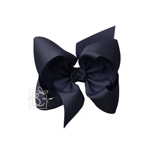 DARK NAVY BOW