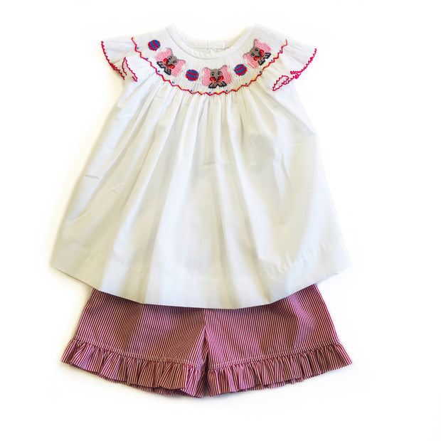 DUMBO SMOCKED SHORT SET