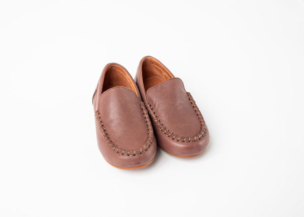 MCCOYS CLASSIC LOAFER IN CHOCOLATE