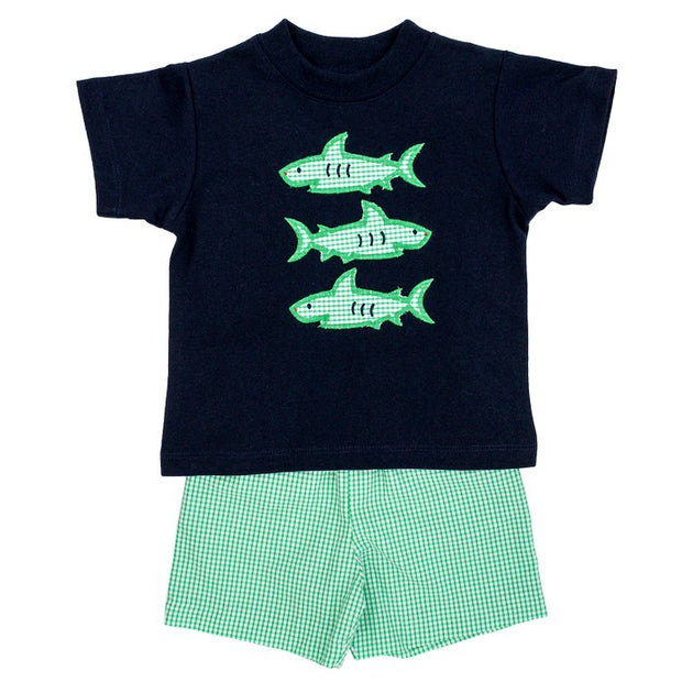 SHARK TRIO SHORT SET