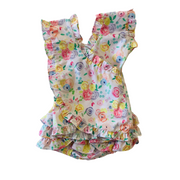 FLORAL BLOOMER SET