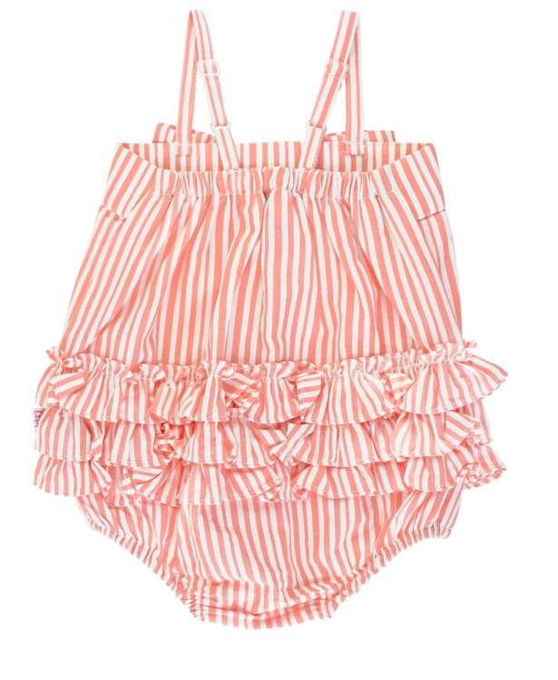 CORAL STRIPE BUBBLE