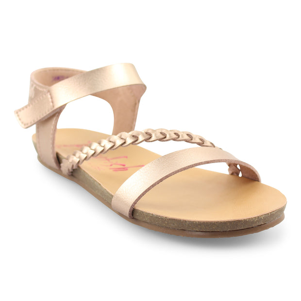 ROSE GOLD GOYA SANDAL