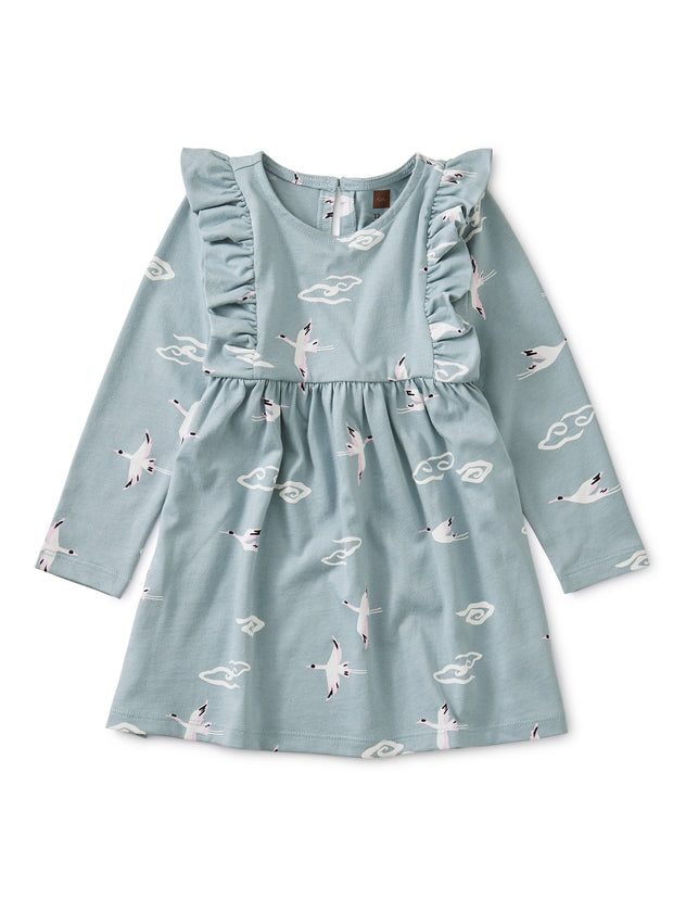 CRANE CLOUD RUFFLE DRESS