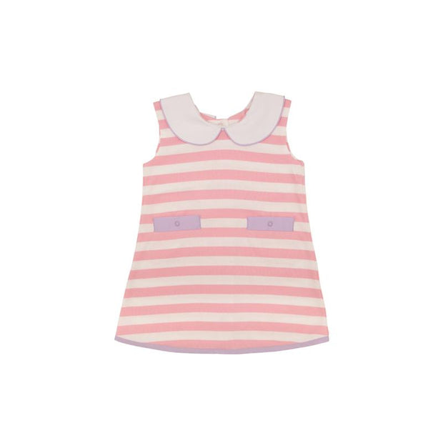 LUANNE'S LUNCH DRESS - PINK/LAVENDER