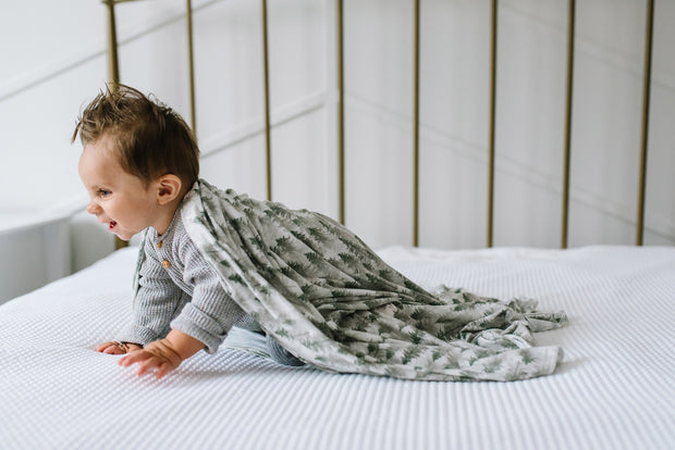 EVERGREEN SWADDLE BLANKET