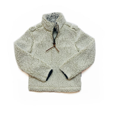 PINTAIL PULLOVER IN CREAM