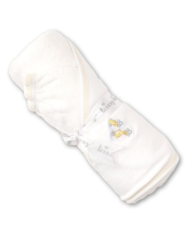 DOWNEAST DUCKIES HOODED TOWEL & MITT SET