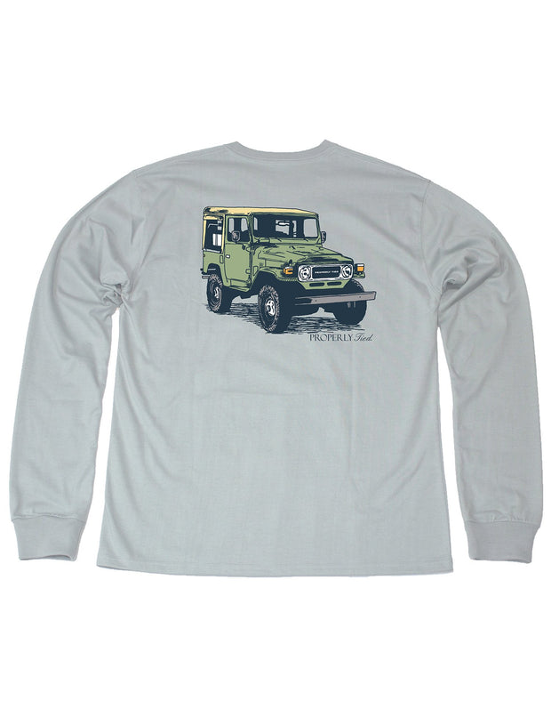 PROPERLY TIED L/S TEE - CAMP CRUISER