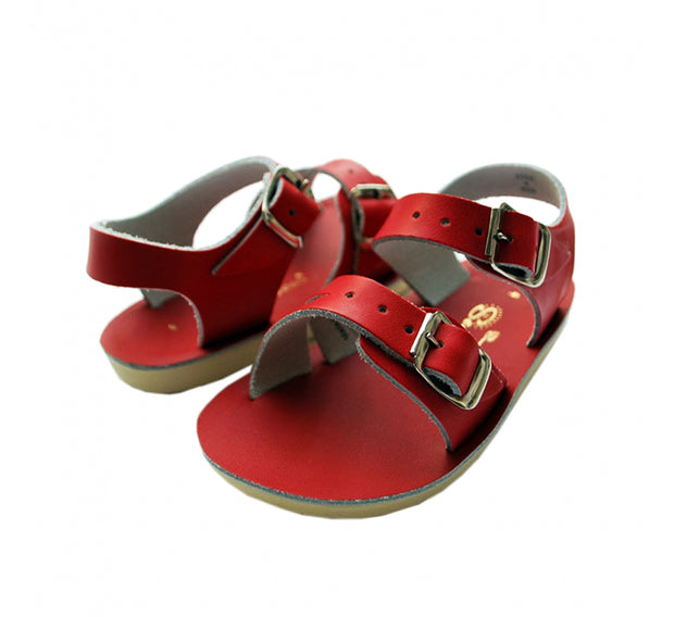 SALTWATER SEA WEE SANDAL - RED