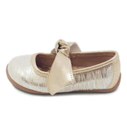 HALLEY BALLET FLAT - CREAM TINSEL