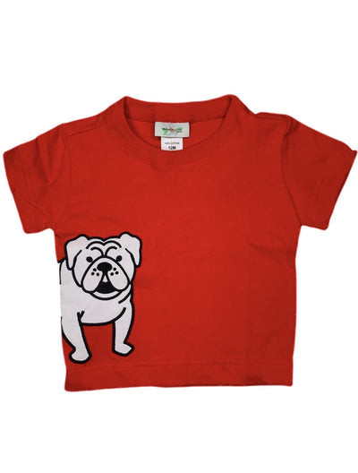 RED BULLDOG TEE