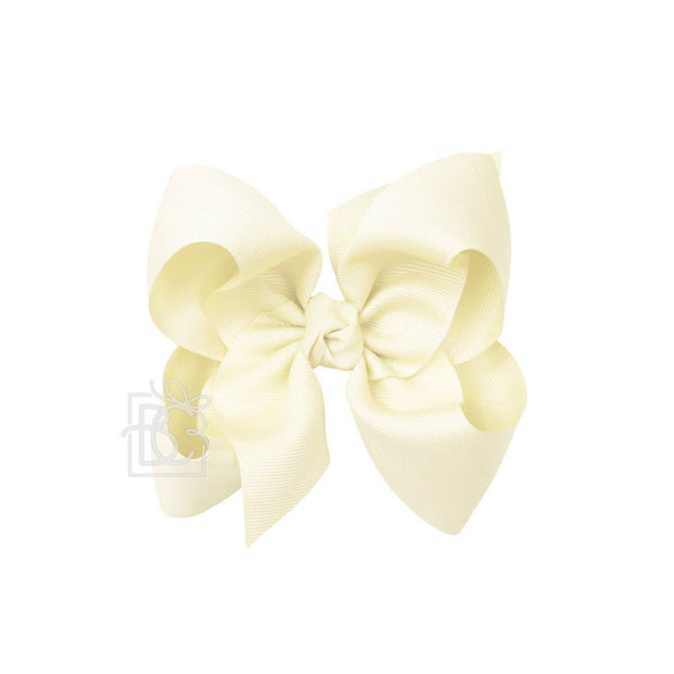 LIGHT YELLOW BOW