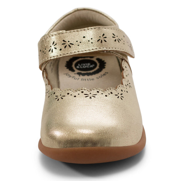 LILY MARY JANE - GOLD METALLIC