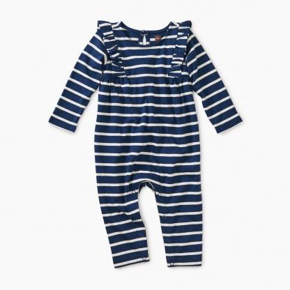 NIGHTFALL STRIPED ROMPER