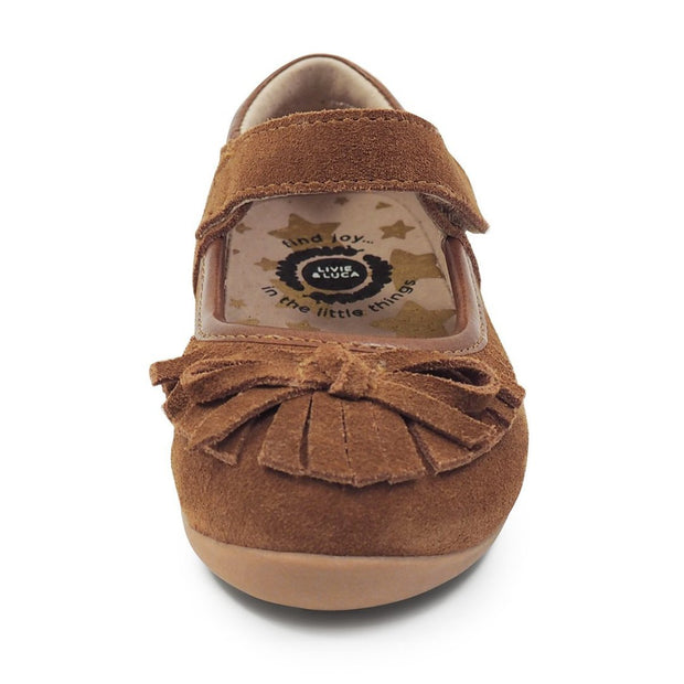 WILLOW MOCCASIN - CAMEL