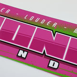 ML Max Power Slap Sticker