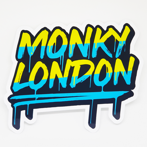 Monky London Graffiti Sticker