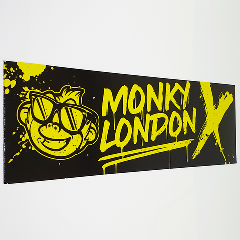 Cheeky Monky Yellow Slap Sticker