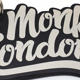 Monky London Aluminium Key Ring