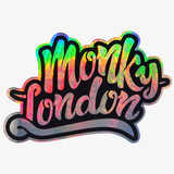 Monky London Neo Chrome Sticker