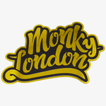 Monky London Gold Chrome Sticker