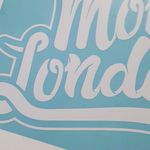 Monky London XL Sticker White