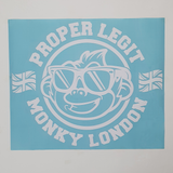 Proper Legit XL Sticker White
