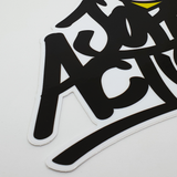 I Love John Action Sticker