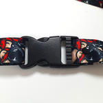 Monky Madness Black Lanyard
