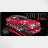 JZX100 Monky Large Banner