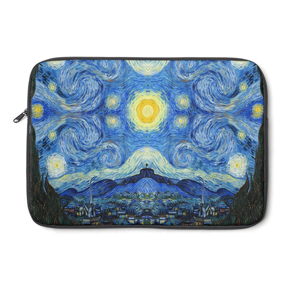 Starry Night Van Gogh Scarf Laptop Sleeve