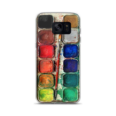 Watercolor Set Samsung Galaxy Case