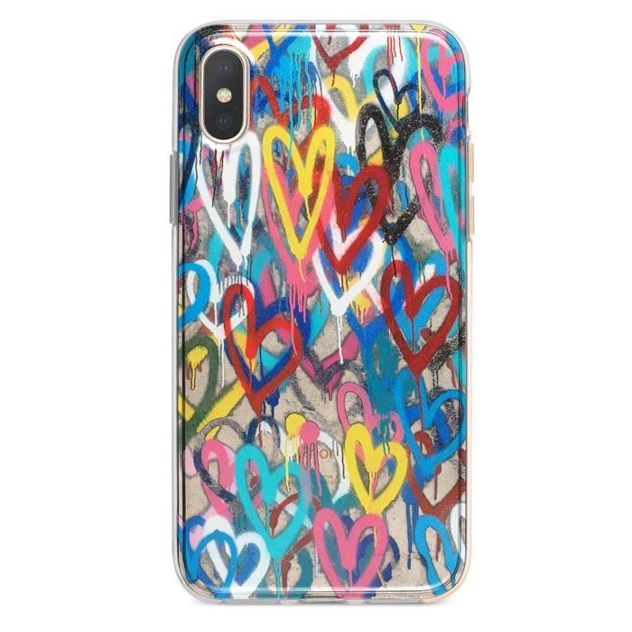 Love Wall iPhone Xs / X case