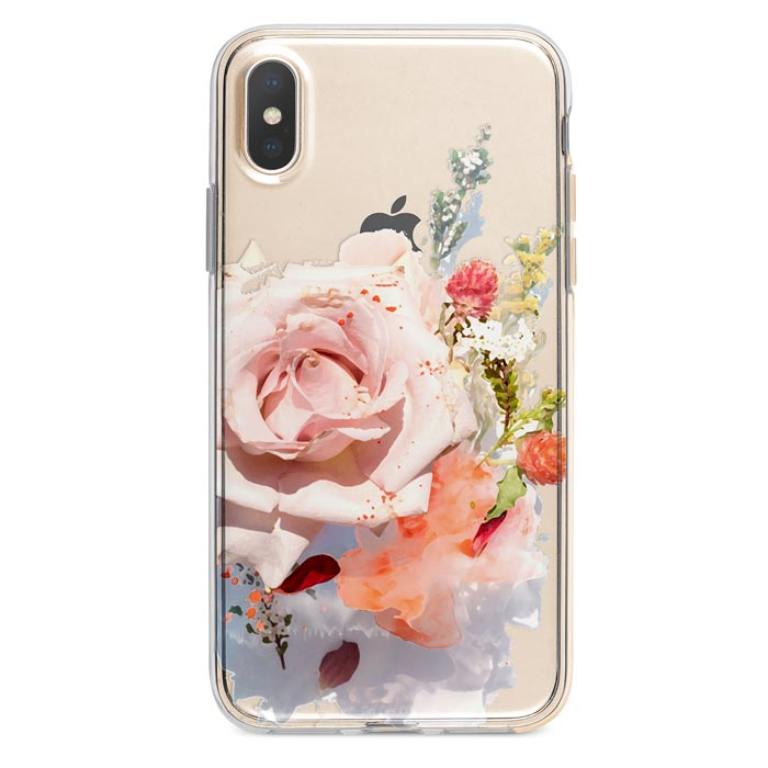 Pastel Flowers iPhone Xs Max case