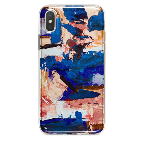 Abstract Paint iPhone Xs / X case