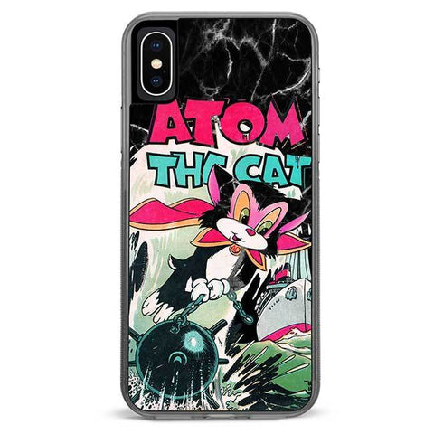 Atom The Cat iPhone Xs Max case