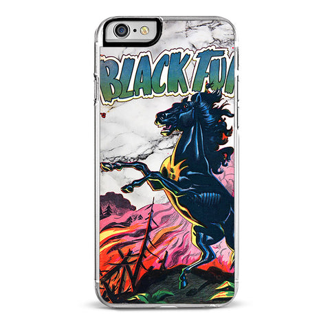 Black Furry iPhone 6/6S Plus Case