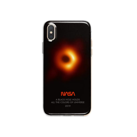 Black Hole iPhone XR case