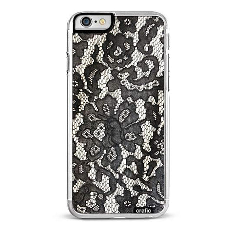 Black Lace iPhone 6/6S Plus Case