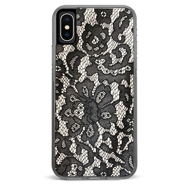 Black Lace iPhone XR case